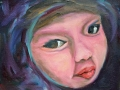 Child 1 - oil/canvas - 8 x 10