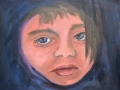Child 2 - oil/canvas - 8 x 10