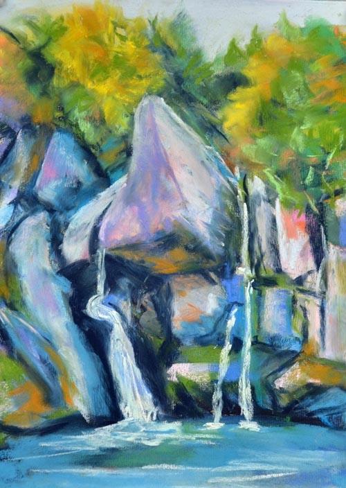 Bash Bish - Autumn - pastel 9 x 12 rs
