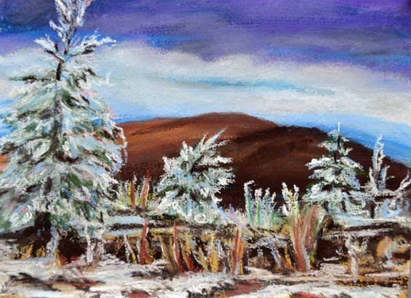 Frozen Tundra - Mt Greylock